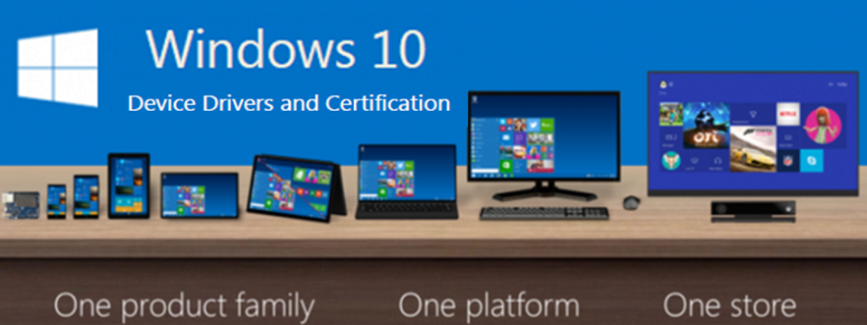 Windows 10 Device Drivers and Certifications