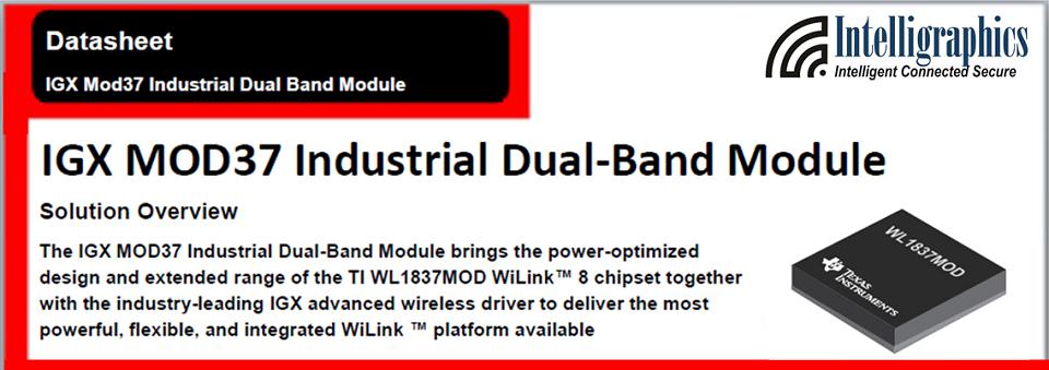 IGX MOD37 Industrial Dual-Band Module
