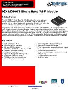 Intelligraphics.com IGX_MOD01T_datasheet