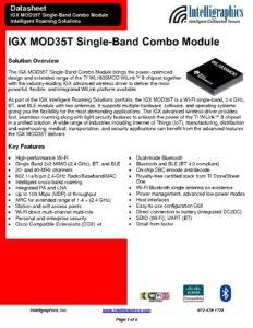 Intelligraphics.com IGX_MOD35T_datasheet