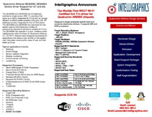 Intelligraphics.com QCA-14fx